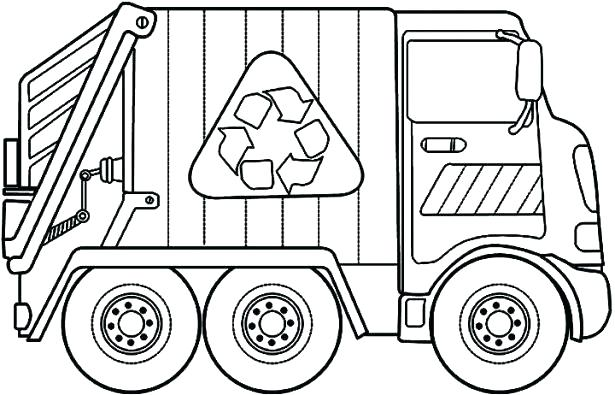 615x395 Tow Truck Coloring Pages Tow Truck Coloring Book Trash Truck