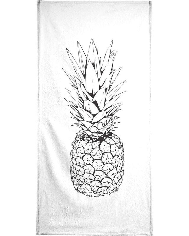 640x800 Pineapple As Hand Amp Bath Towel By Honeymoon Hotel Juniqe Uk