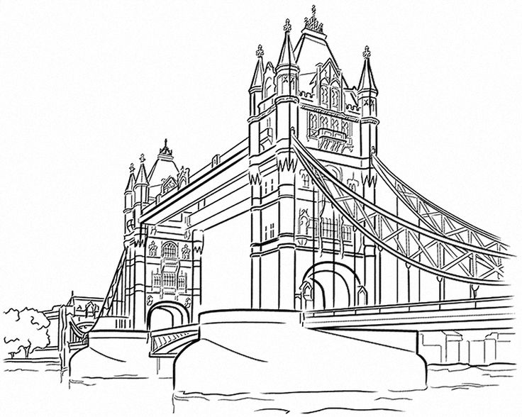 Tower Bridge Drawing