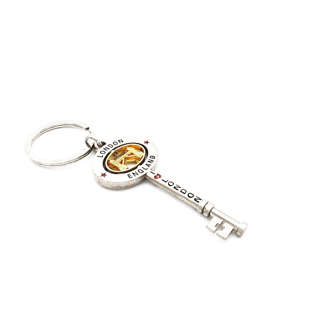 1080x1080 London Keyring British Souvenir Novelty Die Cast Metal Key Tower