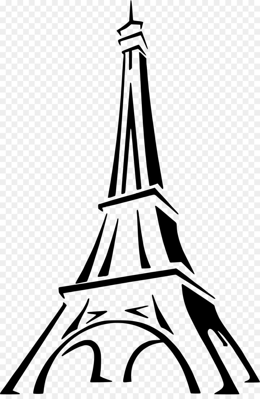 900x1380 Eiffel Tower Drawing Sketch