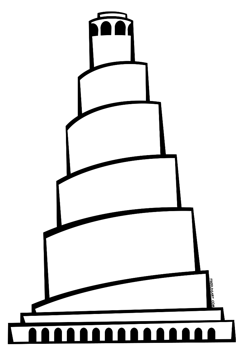 Tower Of Babel Drawing at GetDrawings.com | Free for personal use ...