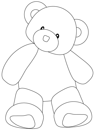 400x541 Step 8 Drawing A Teddy Bear Easy Steps Lesson Art For Kids