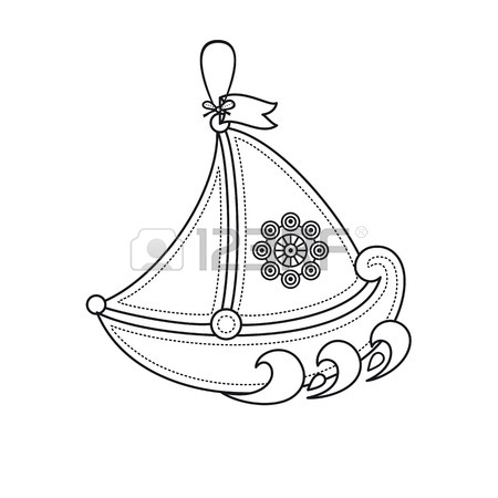Toy Boat Drawing