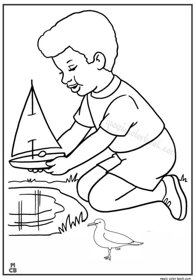 685x975 Magic Toy Boat Printable Coloring Pages