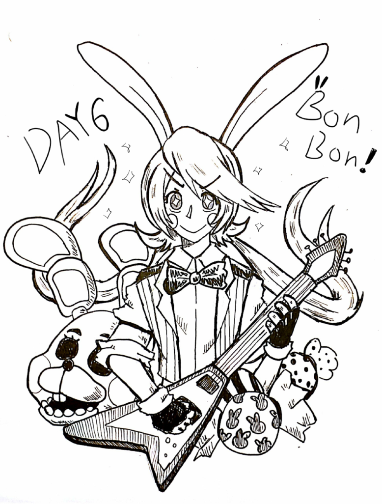 778x1026 Day 6 Toy Bonnie (Bonbon!!) By Xylonprimp