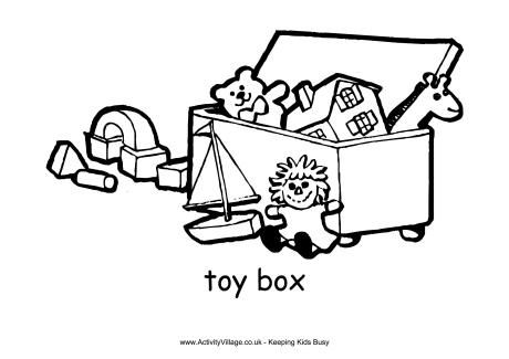 460x325 Beautiful Bonfire Night Clipart Toy Box Colouring Page