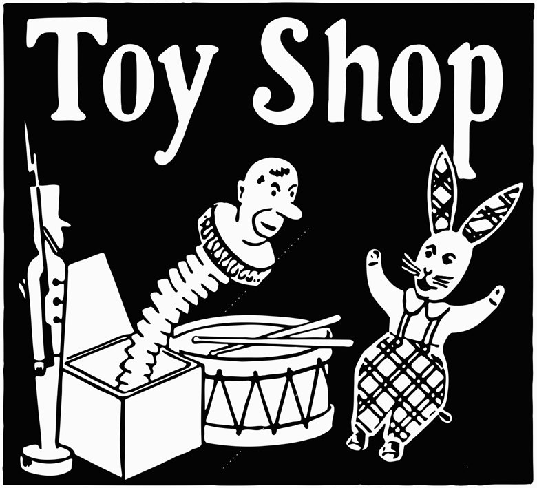 780x709 Toy Shop Printable Image Illustration Sketch For Toy Shop Cutout