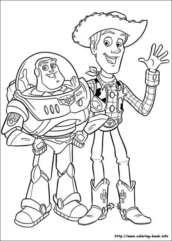 567x794 Toy Story 3 Characters Coloring Pages Preschool For Snazzy Draw