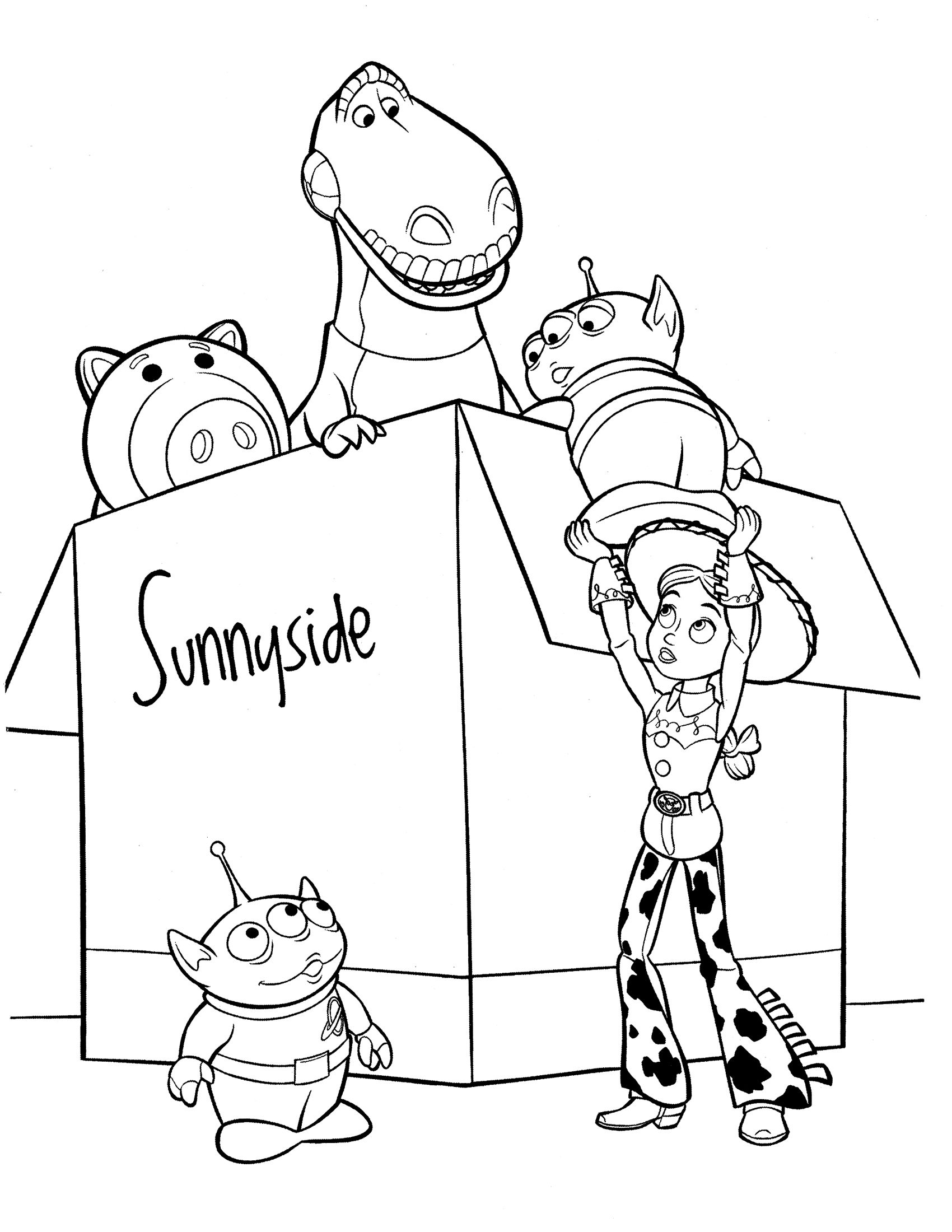 Famous Coloriage Toy Story 3 Buzz Crest - Coloring Pages Of Animals ...