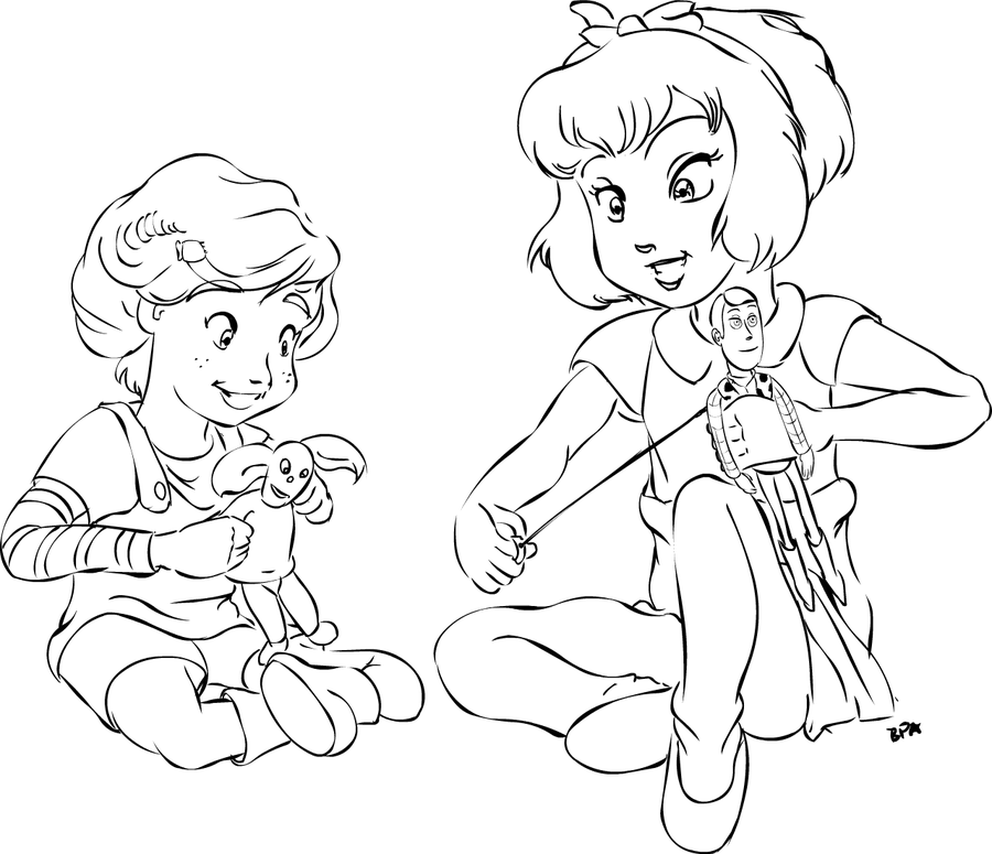 900x775 Bonnie And Anne Marie Playing By Badprogrammerart