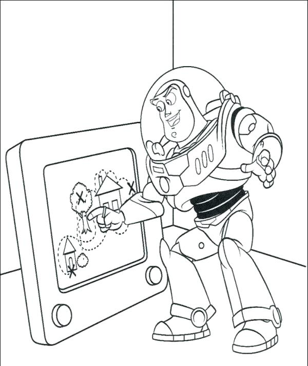 600x713 Coloring Pages Toy Story