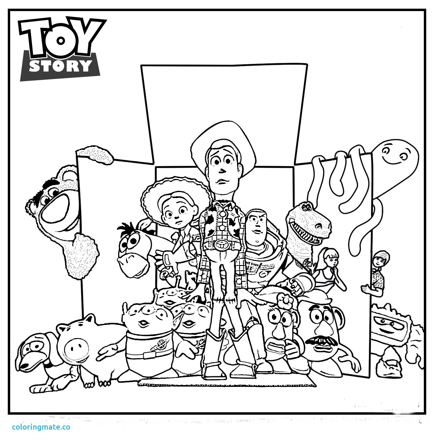 Toy Story 3 Drawing at GetDrawings.com | Free for personal use Toy ...