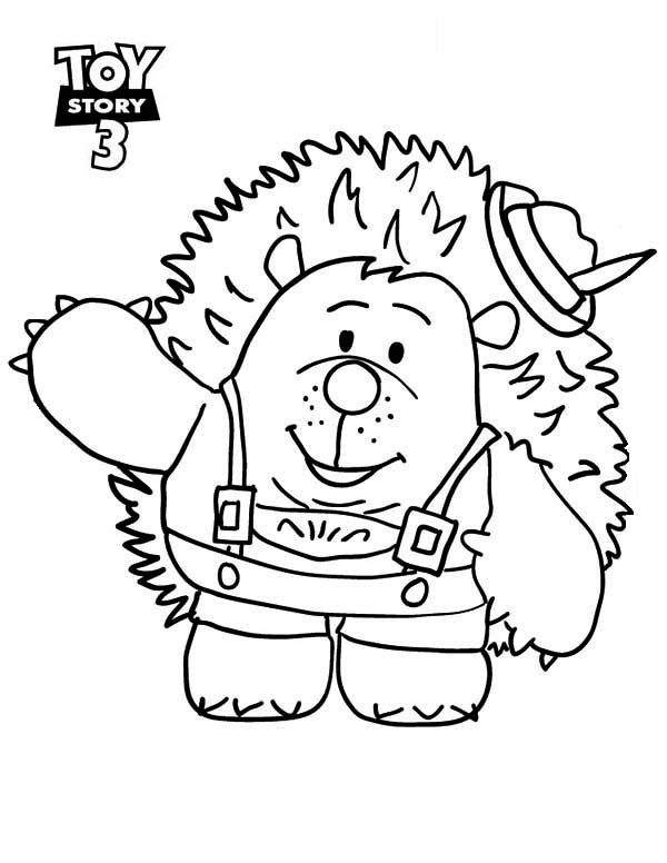 600x776 Meet Mr Pricklepants In Toy Story 3 Coloring Page
