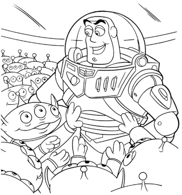 Toy Story Alien Drawing at GetDrawings.com | Free for personal use ...