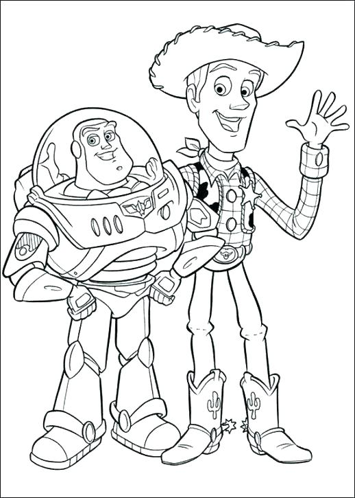 518x725 Jessie Toy Story Coloring Pages Toy Story Characters Coloring