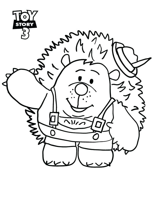 600x776 Character Coloring Pages