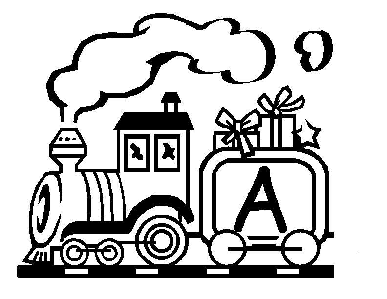 792x612 Trains Alphabet Train Carriages By Letter A Trains Alphabet