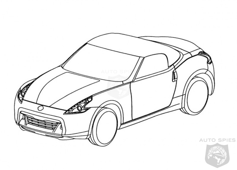 800x574 nissan 370z roadster sketches revealed