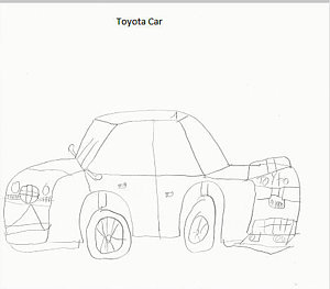 300x263 Toyota Drawings Fine Art America