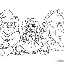 220x220 Kids Teddy Bear And Toys Coloring Pages