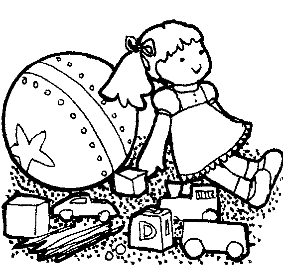 568x561 Toy Clipart Black And White