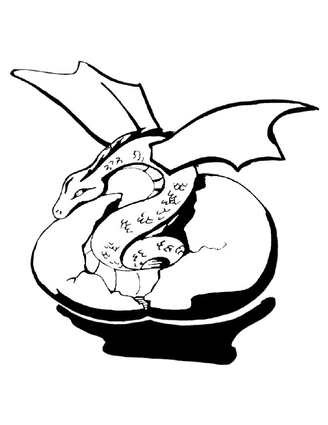 671x869 Traceable Dragons Coloring Page Free Download