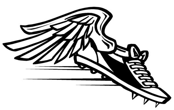 track shoe drawing at getdrawings com free for personal use track rh getdrawings com track shoe clipart black and white Track Shoe Silhouette Clip Art