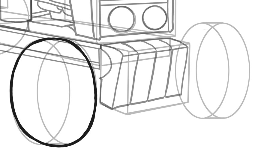 850x529 How To Draw Vehicles Tractors