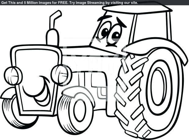 618x459 John Deere Coloring Book Pin Tractor Line Drawing 2 Awesome John