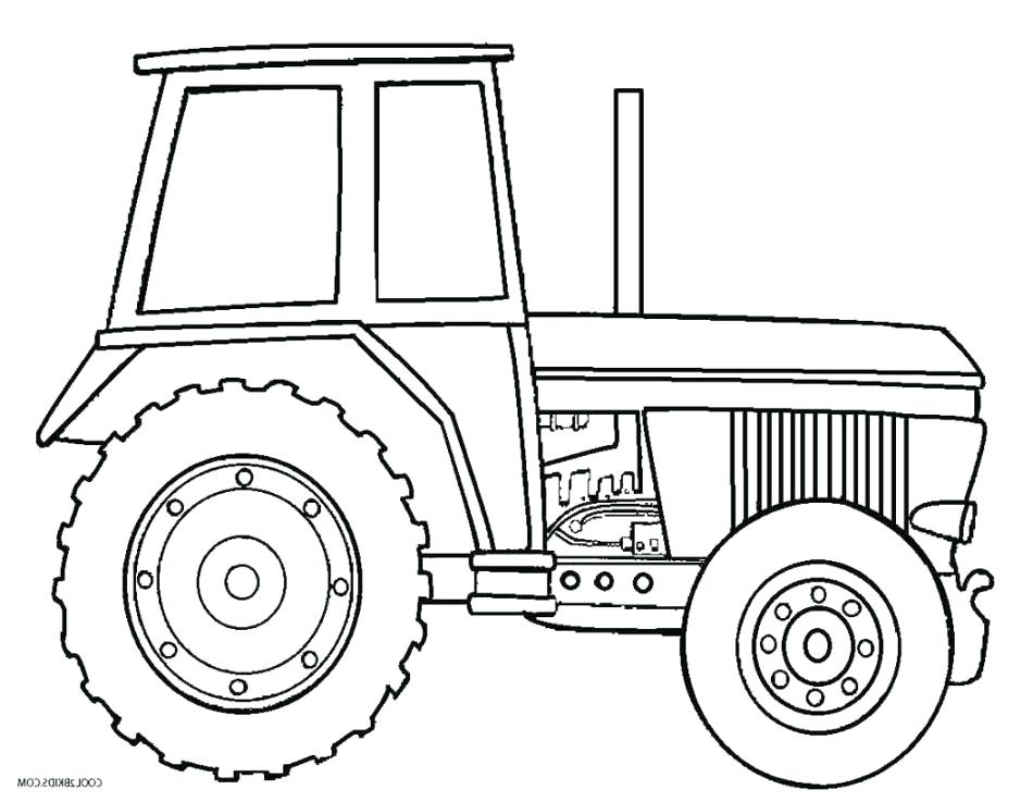 950x737 Johnny Tractor Coloring Pages Drawn Tractor Colouring Page 3 John