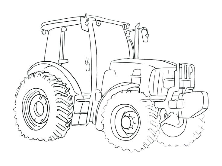 736x552 Tractor Coloring Book As Well As Art Of The Tractor Coloring Book