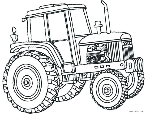 618x481 Drawn Tractor Jhon 3466964
