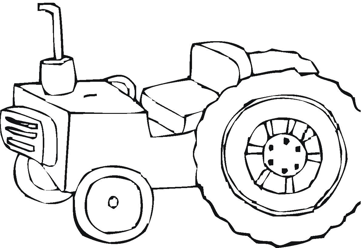 1200x819 Free Printable Tractor Coloring Pages For Kids