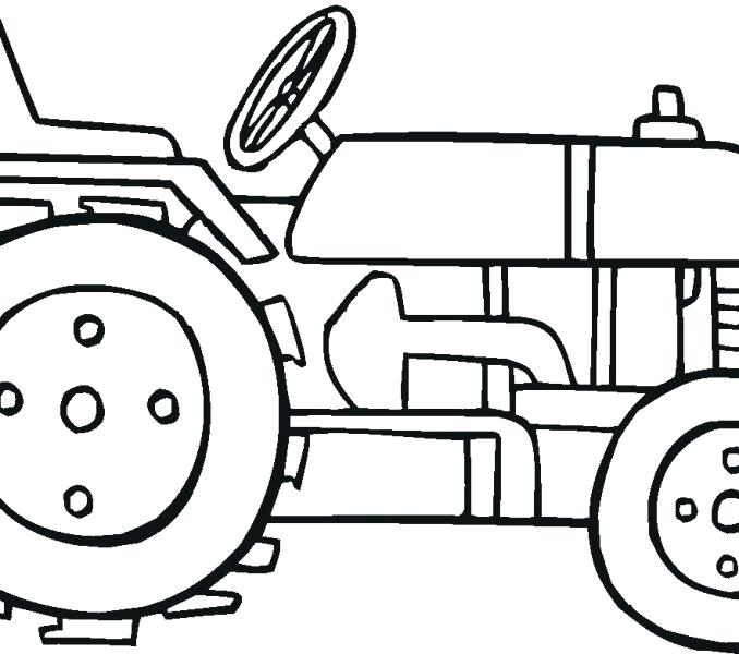 678x600 Free Tractor Coloring Pages Marvellous Tractor Coloring Pages