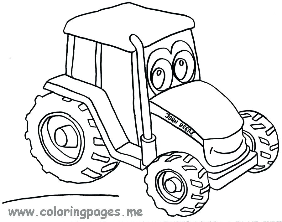 900x709 Tractor Coloring Book Plus Coloring Page Of Cartoon Boy Driving