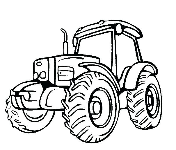 605x517 This Is Tractor Coloring Page Images Printable John Coloring Pages