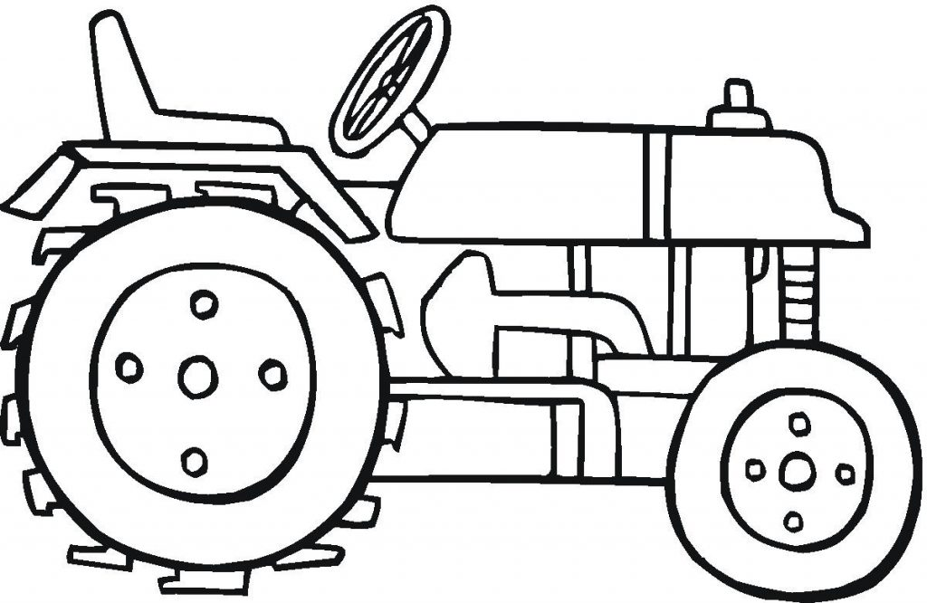 1024x666 Tractor Coloring Pages