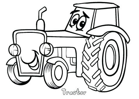 474x338 Free Tractor Coloring Pages John Coloring Book Free Colouring