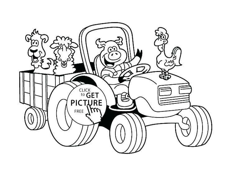 736x552 Tractor Coloring Books Together With Art Of The Tractor Coloring
