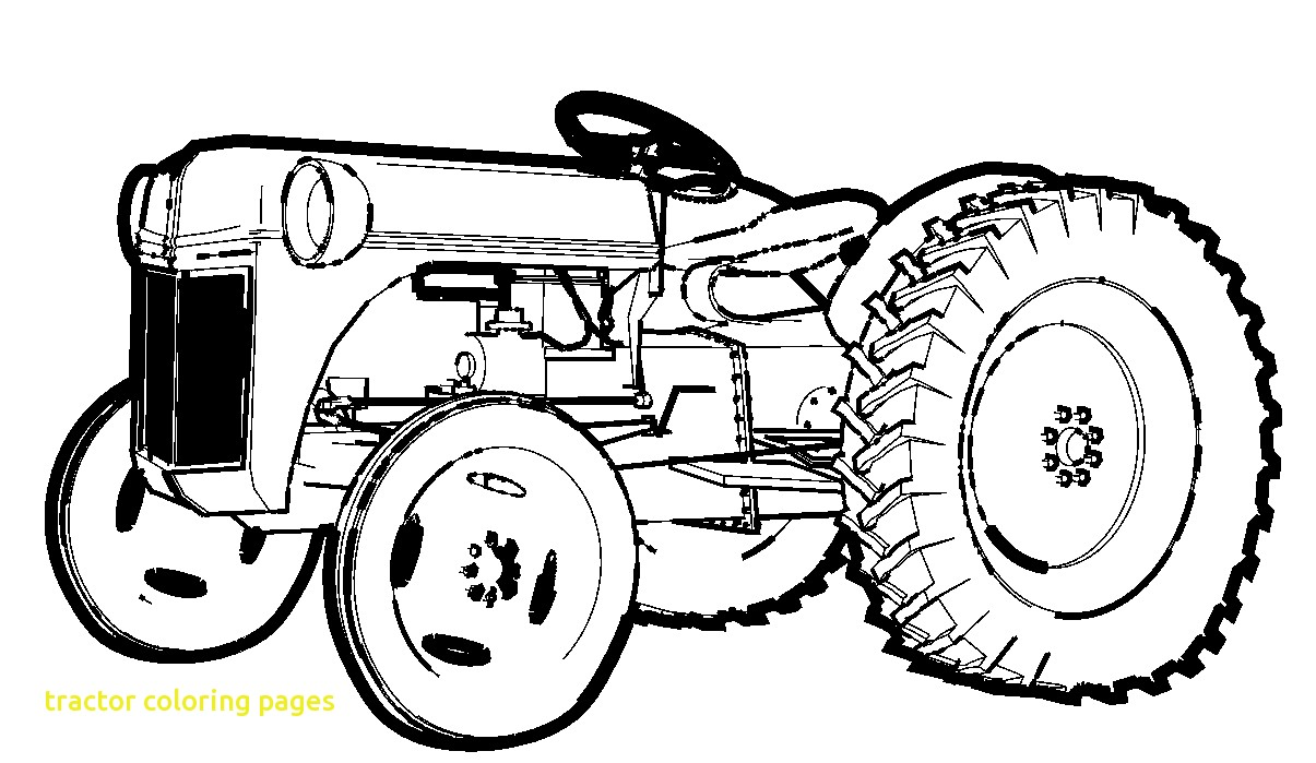 1205x699 Tractor Coloring Pages With Top 25 Free Printable
