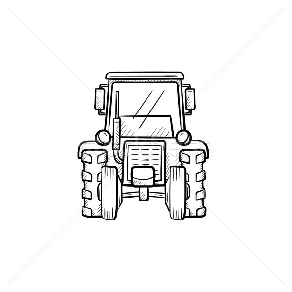 600x600 Tractor Isolated Stock Vectors, Illustrations And Cliparts