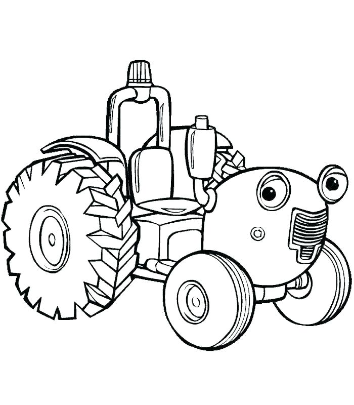 700x800 Elegant John Deere Combine Coloring Pages And Tractor Plowing Farm
