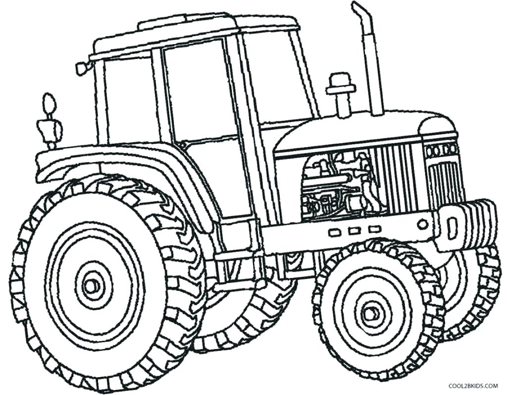 1024x797 Coloring Tractor Coloring Pages Printable