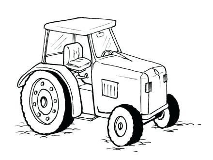 Tractor Trailer Drawing At Getdrawings Com