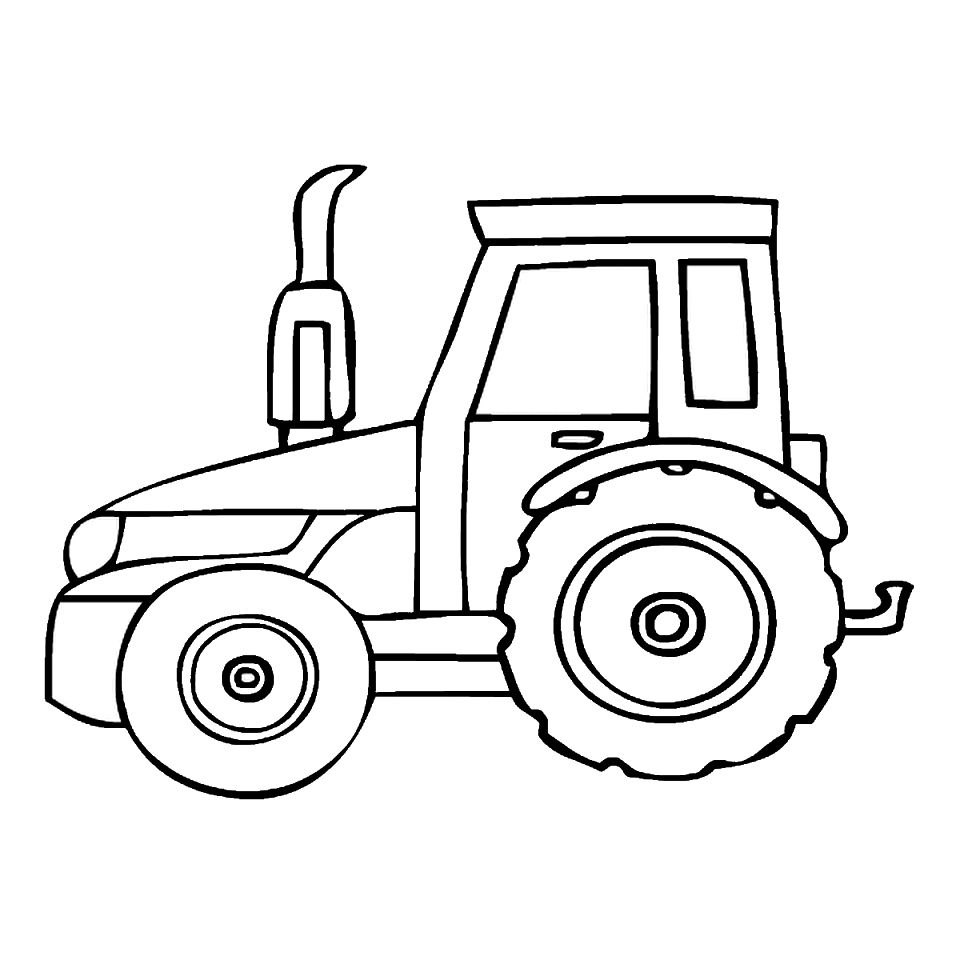960x960 Tractor Coloring Pages Coloring Pages Kids