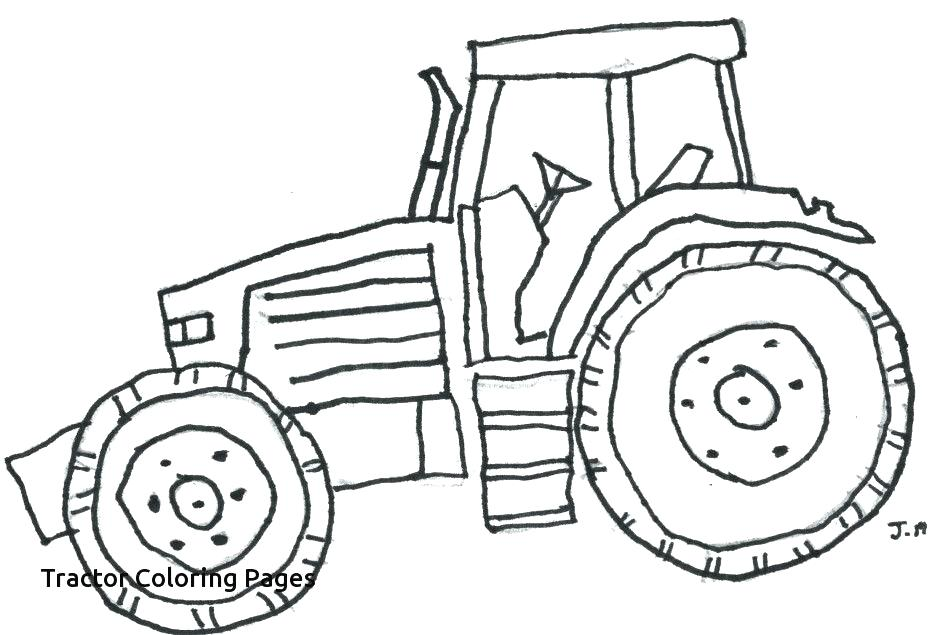 940x635 Coloring Pages Of Tractors