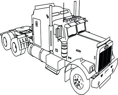 400x322 Truck Coloring Picture Convobox.co