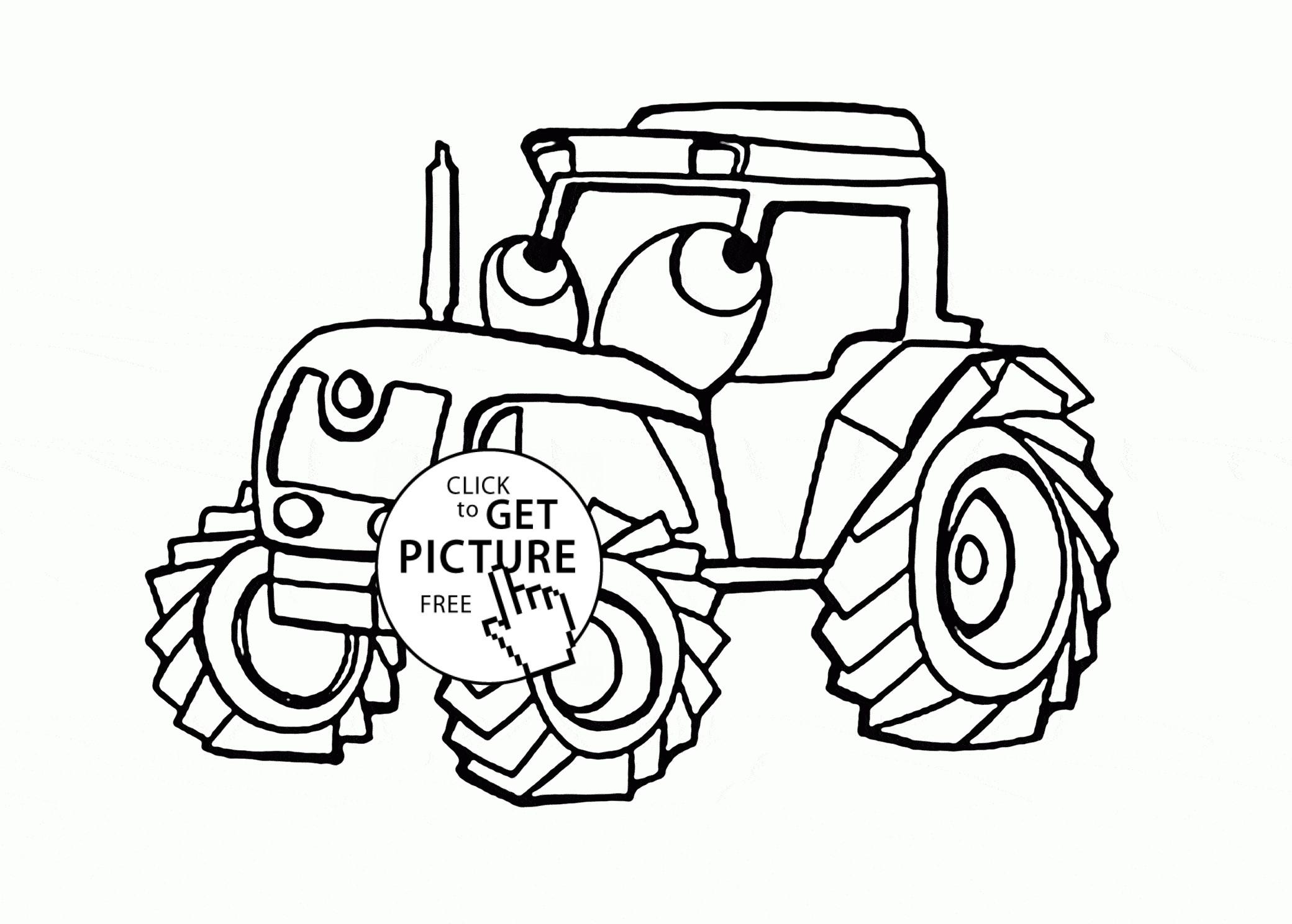 Tractors Drawing At GetDrawings.com