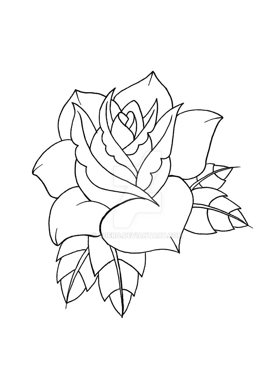 900x1238 Flash Rose By Kdero